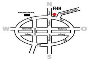 Fritz Henßler Haus map